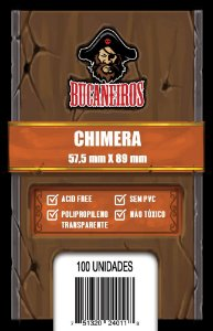 Sleeve Chimera (57,5 x 89 mm) Bucaneiros