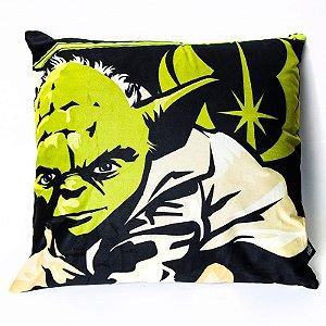 Almofada Veludo Mestre Yoda - Star Wars