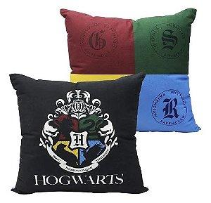 Almofada Casas de Hogwarts - Harry Potter
