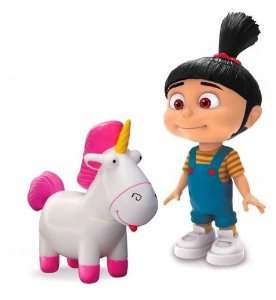 Action Figure Agnes e Fluffy - Meu Malvado Favorito