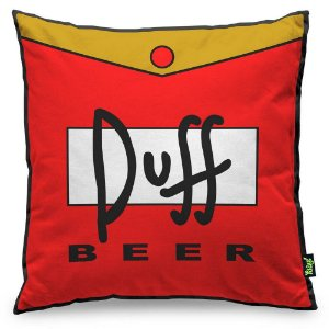Almofada Duff Beer - The Simpsons