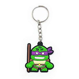 Chaveiro Donatello - Tartarugas Ninja