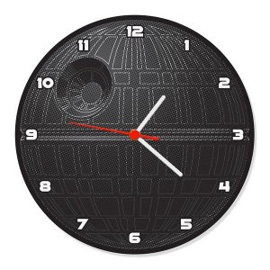 Relógio de Parede Death Star - Star Wars