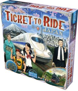Ticket to Ride Itália e Japão (Expansão)
