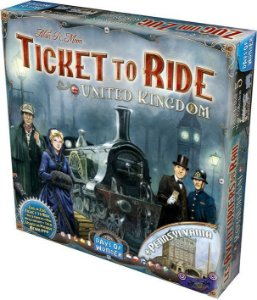 Ticket to Ride Reino Unido e Pensilvânia (Expansão)