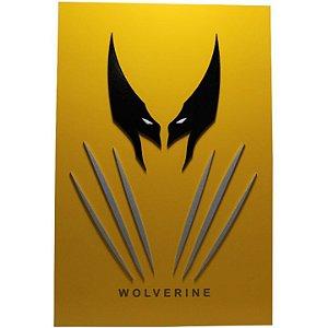 Quadro em Relevo Wolverine - Marvel