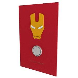 Quadro em Relevo Iron Man - Marvel