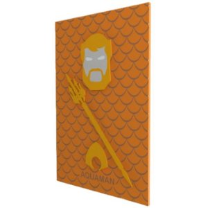 Quadro em Relevo Aquaman - DC Comics