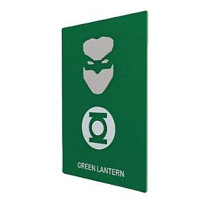 Quadro em Relevo Lanterna Verde - DC Comics