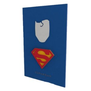Quadro em Relevo Superman - DC Comics