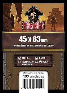 Sleeve FIT Customizado Western Legends / Cuzco (45 x 63 mm) Bucaneiros