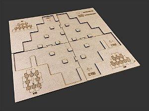 Playmat Para 7 Wonders Duel - Bucaneiros