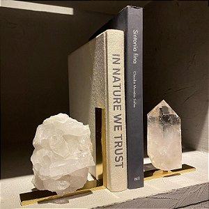 Aparador de Livros Cristal Duo