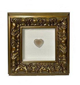 Quadro Love Gold