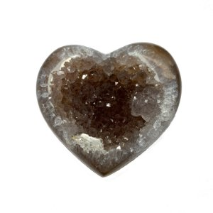 Coração Ágata Brown