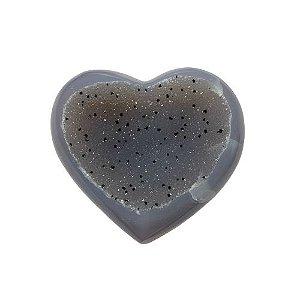 Coração Ágata Pepper