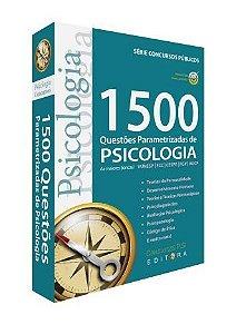 Livro 1500 Questões Parametrizadas de Psicologia