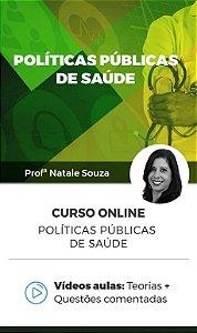 Curso Online - Políticas Públicas de Saúde
