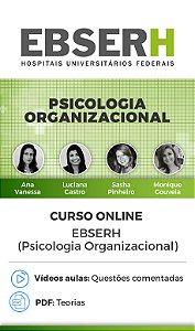 Curso Online - EBSERH (Psicologia Organizacional)