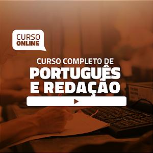 Preparatório Online de Português e Redação para Concursos e Residências (com Livro Bônus)