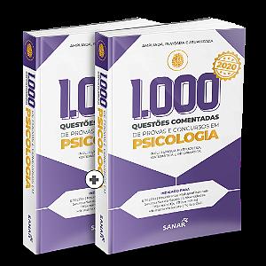 Casadinha 1.000 Questões Comentadas de Provas e Concursos em Psicologia 2020