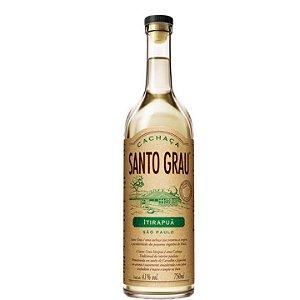 Cachaça Santo Grau Itirapuã Carvalho e Jequitibá 750ml