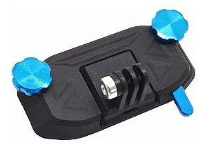 Clipe em ABS para Mochilas e Coletes Compatível com GoPro e Similares