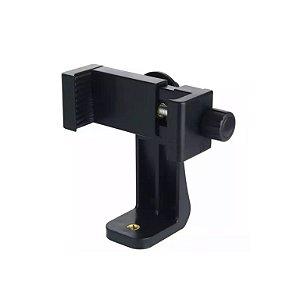 Suporte para uso de celulares em bastões de selfie e acessórios padrão GoPro