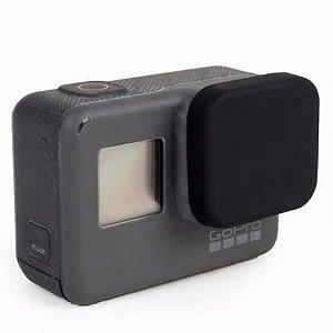 Tampa em Silicone Para Proteção de Lente das Câmeras Gopro HERO5 Black, HERO6 Black e HERO7 Black