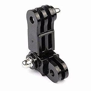 Articulaçao Tipo Pivot Mesma Direção Para Câmeras Gopro e Similares