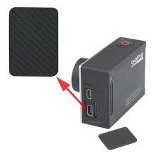 Tampa Lateral Similar da Entrada Mini USB das Câmeras Gopro HERO4 Silver e GoPro HERO4 Black