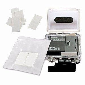 Pastilhas Antiembaçantes  - Kit com 06 - Para Câmeras Gopro, SJCam, Sony e Câmeras Similares