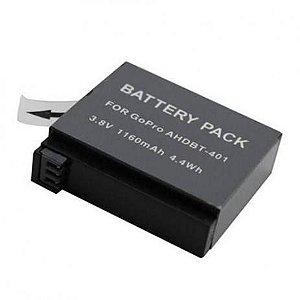 Bateria 1160mAh SIMILAR Para Câmeras Gopro HERO4 Silver e Black - AHDBT-401