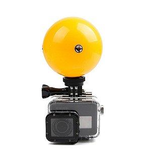 Bola Flutuante Com Encaixe Para Câmeras Gopro, SJCam e Similares.