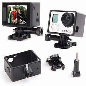 Moldura ou Frame BacPac das Câmeras Gopro HERO3, HERO3+, HERO4 Silver e HERO4 Black