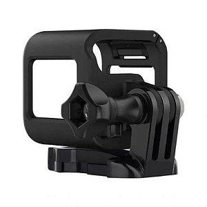 Moldura ou Frame Em Plástico Com Encaixe Traseiro Para Câmeras Gopro HERO4 Session e HERO5 Session.