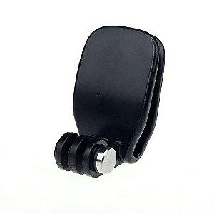 Suporte Plástico Para Bonés ou Quick Clip Similar, Compatível Com Câmeras Gopro, SJCam e Similares