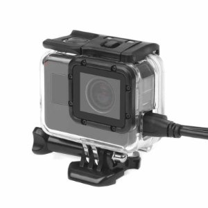 Caixa Vazada ou Skeleton para Gopro HERO5 Black, GoPro HERO6 Black e GoPro HERO7 Black - RETIRA A LENTE