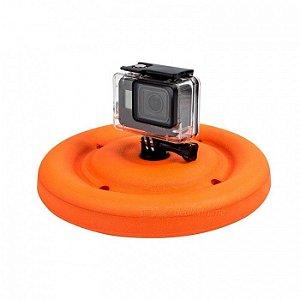 Frisbee Flutuante ou Boia Circular Tipo Disco Para Câmeras GoPro, SJCam, Sony e Câmeras Similares
