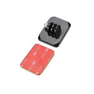 Base Curva Com Adaptador Para GoPro, SJCam, Sony e Similares