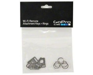 Chaves e argolas para controles remotos Originais GoPro - Attachment Keys + Rings - AWFKY-001