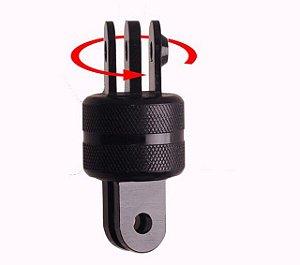 Pivot ou Conexão 360 Graus em Alumínio Compatível com Câmeras GoPro, SJCam, Sony e similares.