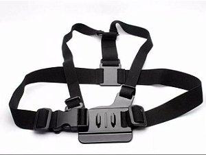 Suporte Para Peito ou Tórax - Modelo 02 - Compatível com Câmeras Gopro, SJCam e Similares