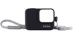 Capa de Proteção em Silicone Original GoPro Sleeve para GoPro HERO5 Black, HERO6 Black e HERO7 Black - ACSST-001