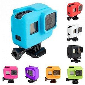Capa de Proteção em Silicone Para Câmeras Gopro HERO5 Black, HERO6 Black e HERO7 Black - Mod. 02