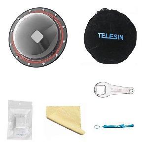 Dome Telesin 6 Polegadas Para Câmeras Gopro HERO4 SESSION e GoPro HERO5 Session