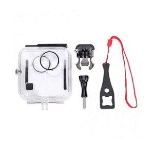 Caixa estanque para profundidade de até 45m, compatível com câmeras GoPro Fusion 360.