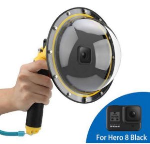 Dome Telesin 6 Polegadas Para Câmeras Gopro HERO8 Black