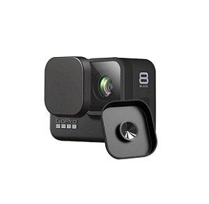 Capa proteção em silicone para lentes das câmeras GoPro HERO8 Black