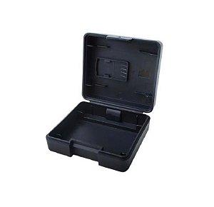 Caixa para Proteção e Transporte de cartão de memória microSD e bateria das câmeras DJi Osmo Action.